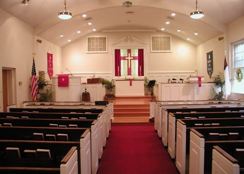 Pro-Spec commercial painting of church