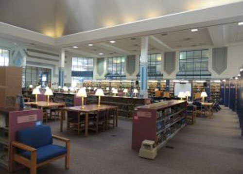 Pro-Spec commercial paint job of a library