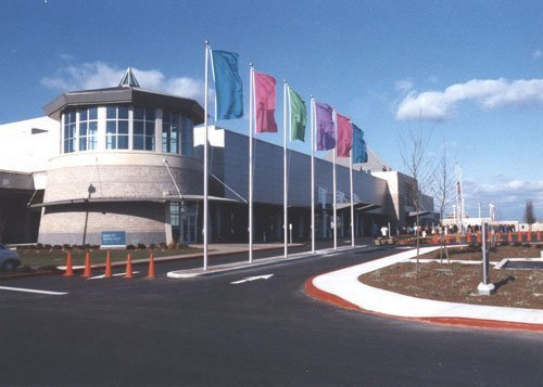 Ocean City convention center commercially painted Pro-Spec