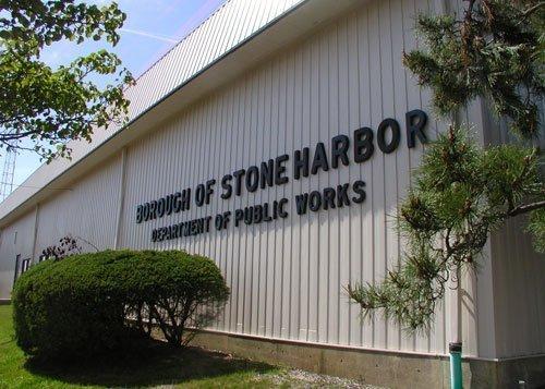 Pro-Spec commercial paint exterior stone harbor dept of works